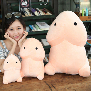 30/50 cm Lovely Plush Penis Toy Doll Soft Stuffed Creative Simulation Penis Pillow Cute Sexy Creative Toy Gift for Girlfriend