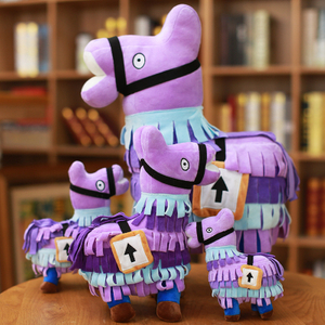 20/26/35/58 cm Hot Game Llama Plush Toy Stuffed Llama Cute Toy