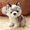 18/22/28 cm Simulation Husky Plush Toy Stuffed Animal Husky Dog Toys For Children Education Home Decoration Decent Bed Toy