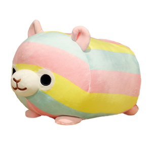 35/45 cm Soft Rainbow Alpacasso Alpaca Plus Toy Stuffed Japanese Alpacasso Alpaca Soft Plush Baby Toy Plush Animals Alpaca