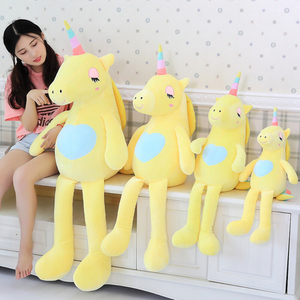 Soft Rainbow Unicorn Plush Toy 60/85 cm Adorable Plush Unicorn Stuffed Animal Unicorn Plush Toys Brand For Children