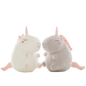 Unicorn Plush Toy Fat Plush Unicorn Stuffed Animal Plush Toys Brand For Children