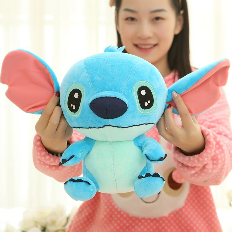 30/35/40 cm Soft Plush Stitch Plush Doll Toys Anime Foam Particle Stuffed Stitch Plush Toys for Children Kids Birthday Gift