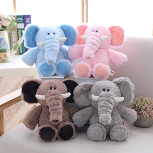 30 cm Elephant Soft Plush Toy Stuffed Animal Elephant Baby Appease Placating Toy Cotton Plush Toy For Children